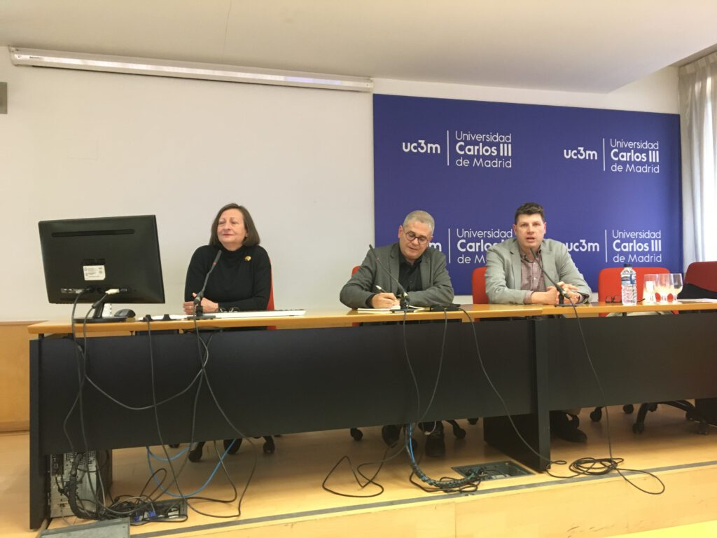 Ángeles Afuera, Javier Frutos y Álvaro Ribagorda