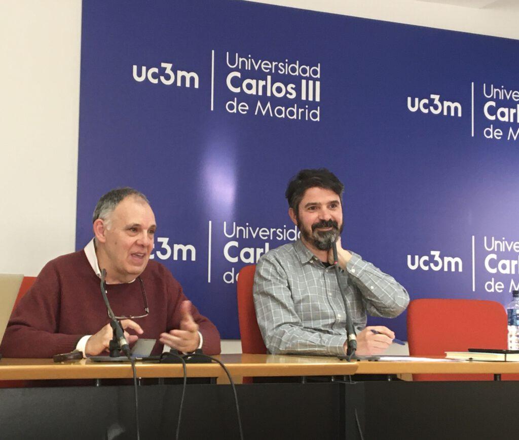 Leoncio López-Ocón y Mario Pedrazuela